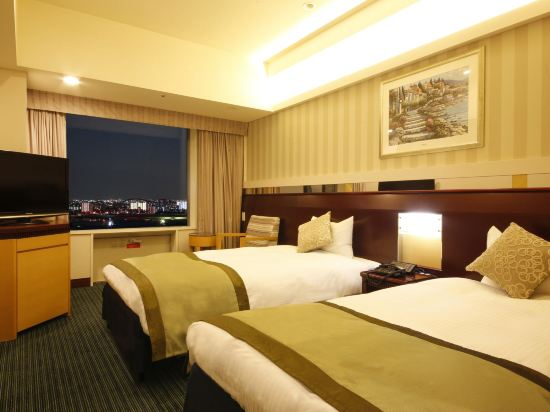 京阪環球塔酒店(Hotel Keihan Universal Tower)高級雙床房