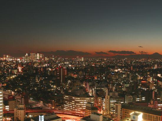 東京太陽城王子大酒店(Sunshine City Prince Hotel Tokyo)城市樓層雙床房B