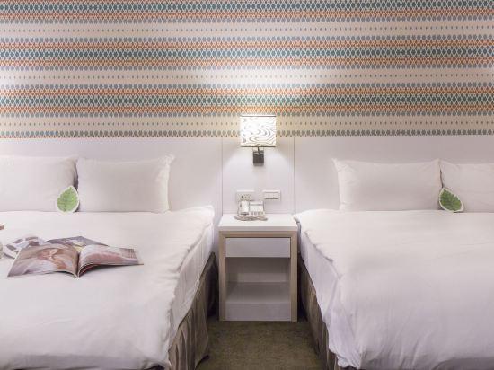 台北西門星辰大飯店(Ximen Citizen Hotel)星辰四人房