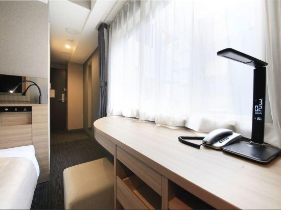 大阪心齋橋金塔酒店(Quintessa Hotel Osaka Shinsaibashi)標準單人房