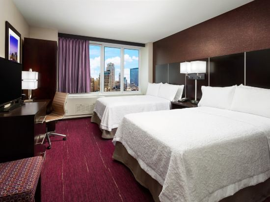 時代廣場中心歡朋酒店(Hampton Inn Times Square Central)城景房