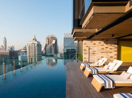 曼谷無線路英迪格酒店(Hotel Indigo Bangkok Wireless Road)室外游泳池