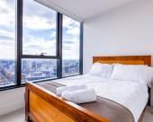 Heyday假日公寓|墨爾本市中心高層兩房