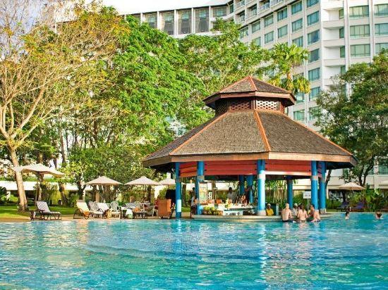 哥打京那巴魯絲綢太平洋酒店(The Pacific Sutera)室外游泳池