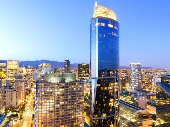 温哥華喜來登華爾中心酒店(Sheraton Vancouver Wall Centre)外觀
