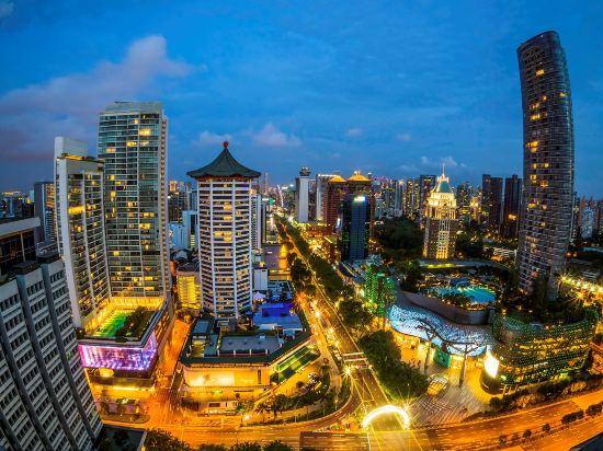 新加坡君悦酒店(Grand Hyatt Singapore)眺望遠景