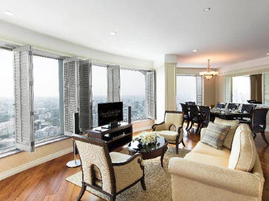 曼谷拉查丹利中心酒店(Grande Centre Point Ratchadamri Bangkok)Room plan