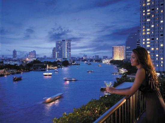 曼谷香格里拉大酒店(Shangri-La Hotel Bangkok)外觀