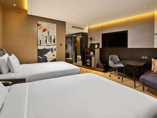 史丹福瑞士酒店(Swissotel the Stamford)瑞士港景房