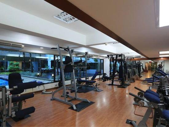 曼谷亞洲酒店(Asia Hotel Bangkok)健身房