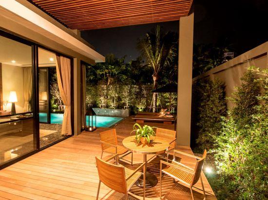 美憬閣索菲特華欣V別墅酒店(V Villas Hua Hin - MGallery by Sofitel)一卧室泳池別墅套房
