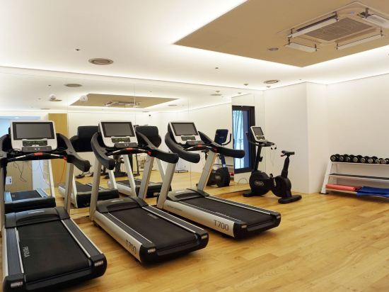 首爾明洞喜普樂吉酒店(Sotetsu Hotels The SPLAISIR Seoul Myeongdong)健身房