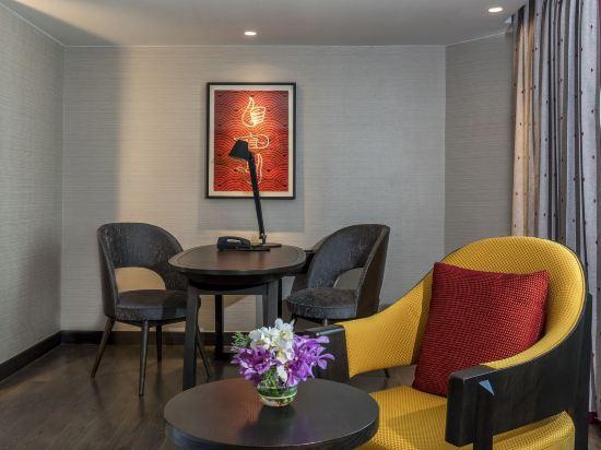 曼谷素坤逸11號美居酒店(Mercure Bangkok Sukhumvit 11)特權雙床房