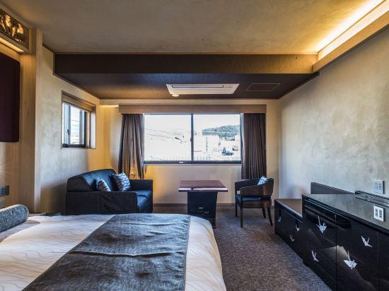 京都雅然居酒店(祇園)(Hotel Alza Kyoto)城景高級大床房