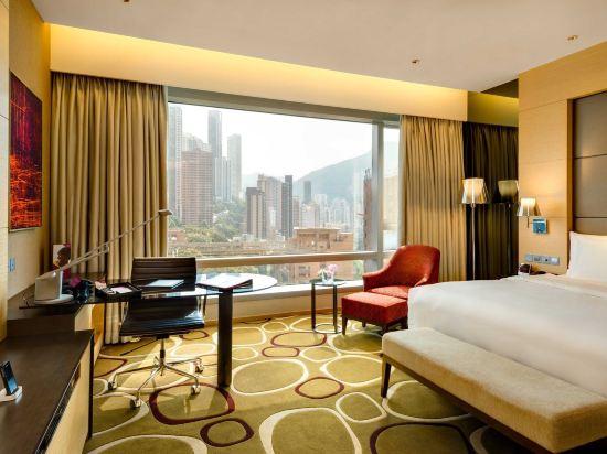 香港銅鑼灣皇冠假日酒店(Crowne Plaza Hong Kong Causeway Bay)豪華客房