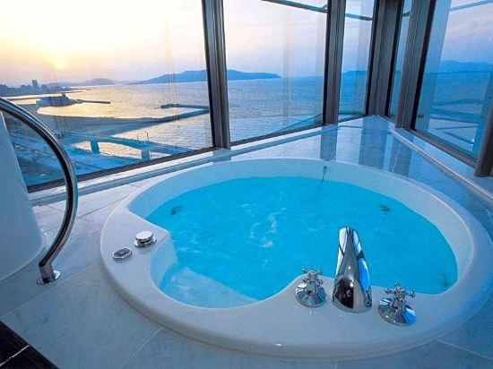 福岡海鷹希爾頓酒店(Hilton Fukuoka Sea Hawk)全景套房