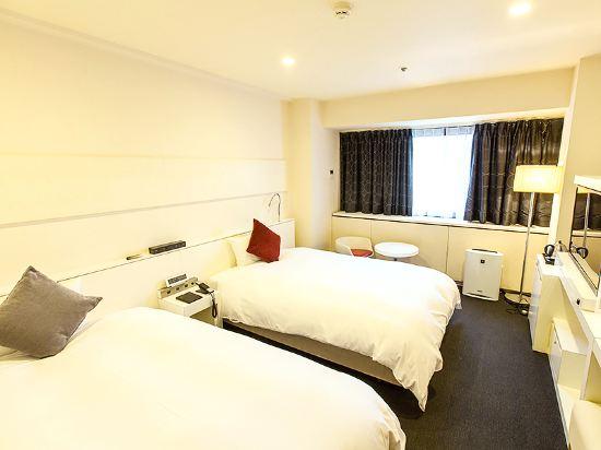 大阪十字酒店(Cross Hotel Osaka)雙床房