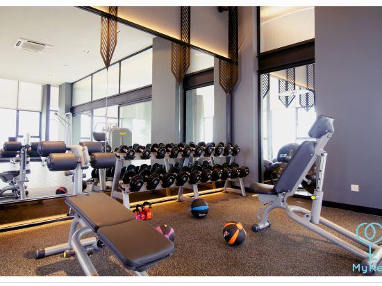 吉隆坡星匯公寓式酒店(Expressionz Professional Suites by MyKey Global)健身房