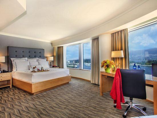 温哥華泛太平洋酒店(Pan Pacific Vancouver)尊貴房