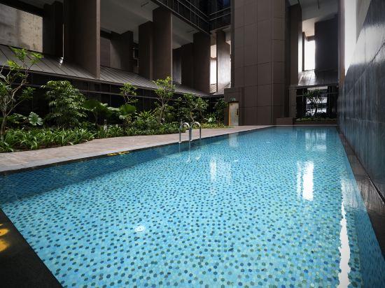 新加坡米閣大酒店(Hotel Mi Singapore)室內游泳池