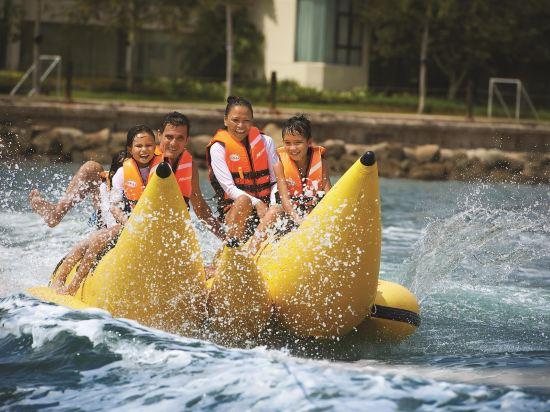 哥打京那巴魯香格里拉丹絨亞路酒店(Shangri-La's Tanjung Aru Resort & Spa Kota Kinabalu)基納巴盧樓山景房