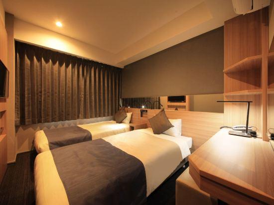 大阪心齋橋金塔酒店(Quintessa Hotel Osaka Shinsaibashi)標準雙床房