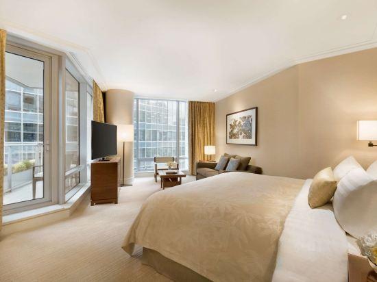 温哥華香格里拉大酒店(Shangri-La Hotel Vancouver)行政陽台景觀客房