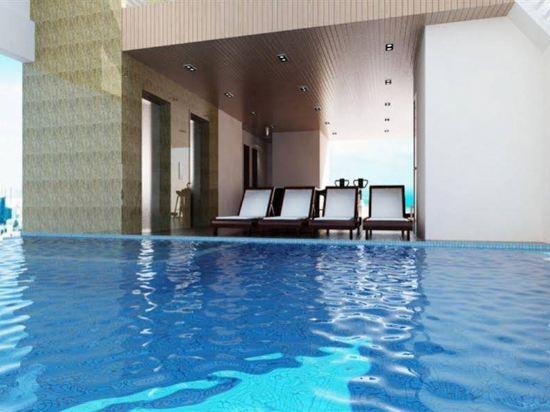 峴港國王手指酒店(King's Finger Hotel Da Nang)室內游泳池