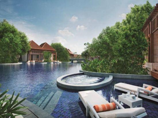 新加坡聖淘沙名勝世界逸濠酒店(Resorts World Sentosa - Equarius Hotel)室外游泳池
