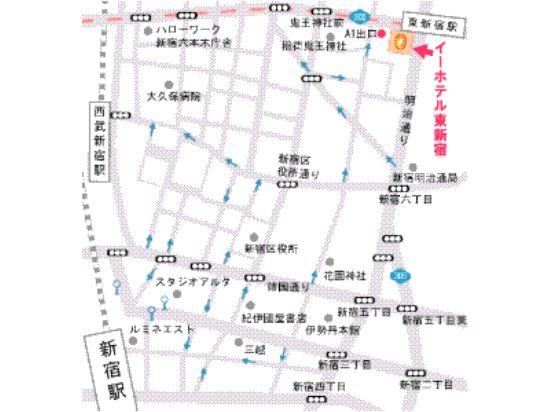 東新宿E酒店(E Hotel Higashi Shinjuku)其他