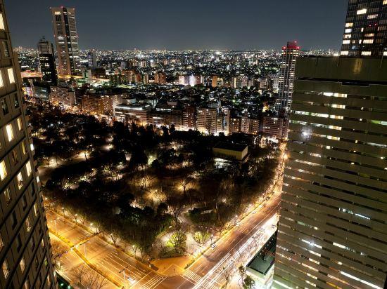東京希爾頓酒店(Hilton Tokyo Hotel)眺望遠景