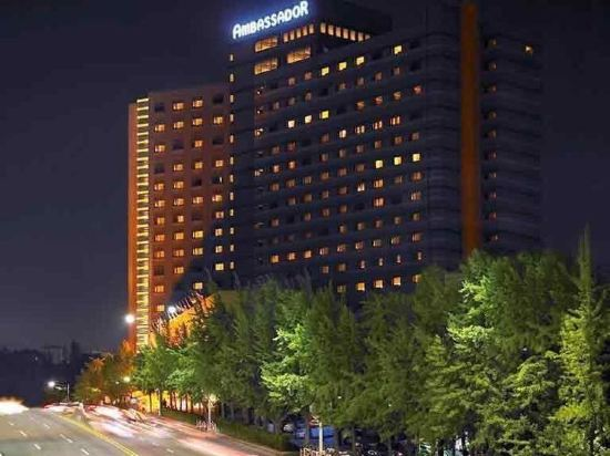 首爾大使鉑爾曼酒店(Grand Ambassador Seoul Associated Pullman)外觀