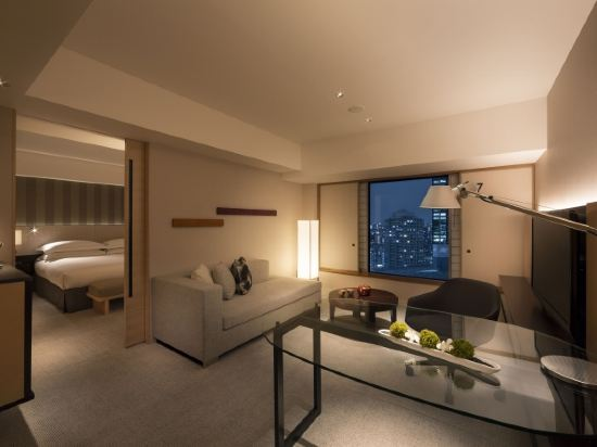 東京希爾頓酒店(Hilton Tokyo)市景行政套房 國王大床