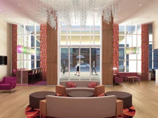 時代廣場中心歡朋酒店(Hampton Inn Times Square Central)公共區域