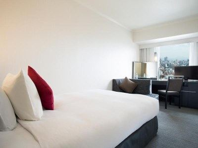 大阪日航酒店(Hotel Nikko Osaka)標準小型大床房