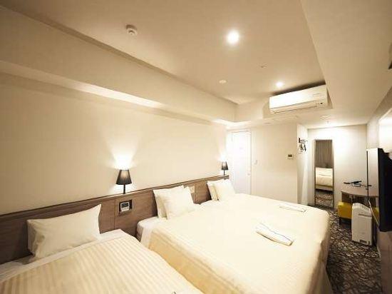 東京相鐵弗雷薩旅店銀座七丁目酒店(Sotetsu Fresa Inn Ginza-Nanachome)高級雙床房