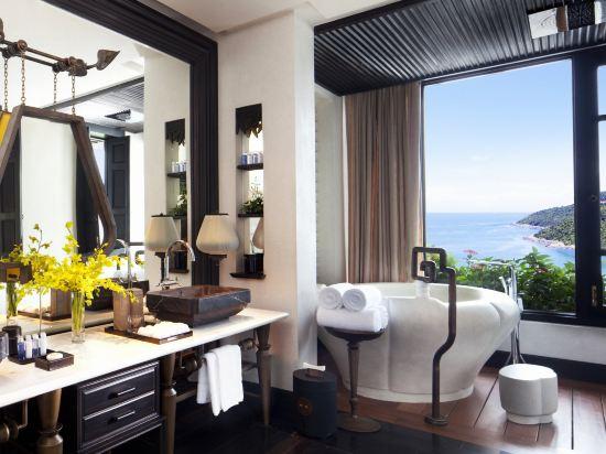 峴港洲際陽光半島度假酒店(InterContinental Danang Sun Peninsula Resort)海景山茶露台套房