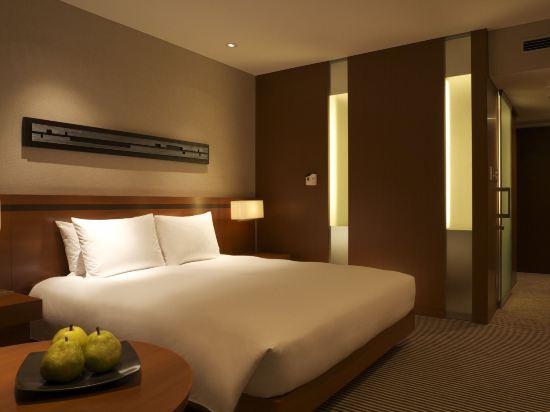 東京凱悅酒店(Hyatt Regency Tokyo)景觀豪華特大床房
