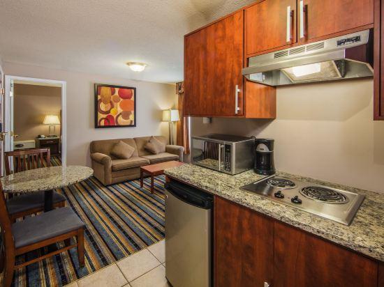 華美達温德姆華市中心酒店(Ramada Vancouver Downtown)簡易套房
