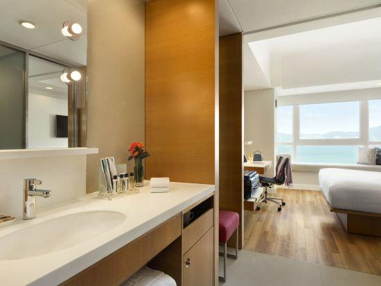 香港今旅酒店(Hotel Jen Hong Kong)貴賓閣海景客房