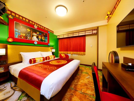 日本樂高樂園酒店(Legoland Japan Hotel)景觀忍者主題房