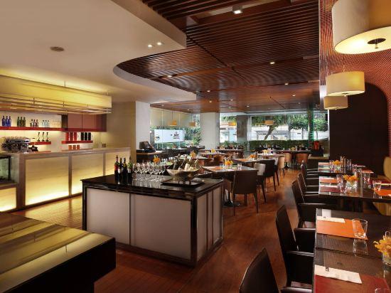 曼谷撒通維斯塔萬豪行政公寓(Sathorn Vista, Bangkok - Marriott Executive Apartments)餐廳