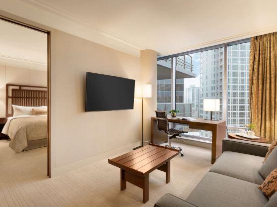 温哥華香格里拉大酒店(Shangri-La Hotel Vancouver)單卧套房