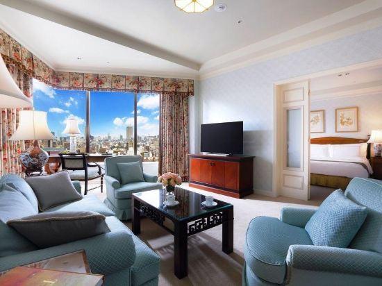 東京椿山莊大酒店(Hotel Chinzanso Tokyo)城景至尊經典特大床套房(帶水療)