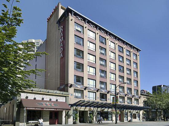 華美達温德姆華市中心酒店(Ramada Vancouver Downtown)外觀