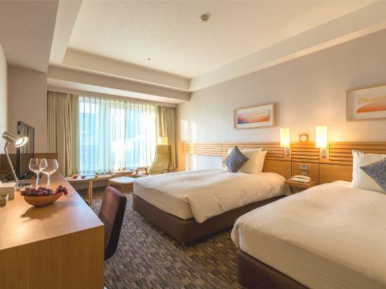 札幌三位神大酒店(Hotel Resol Trinity Sapporo)高級園景雙床房