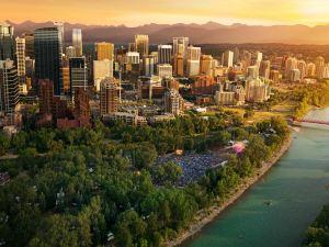 卡爾加里萬豪城市中心酒店(Calgary Marriott Downtown Hotel)