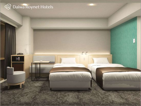 福岡西中洲大和ROYNET酒店(Daiwa Roynet Hotel Fukuoka Nishinakasu)雙床房