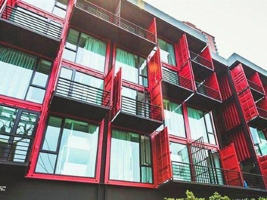 素坤逸膠囊22號旅舍(Sleepbox Sukhumvit 22 Hostel)外觀