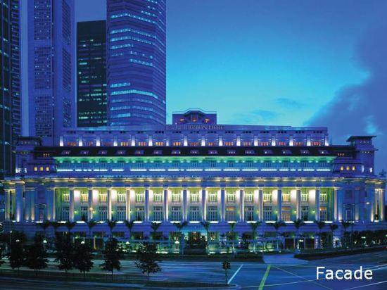 新加坡富麗敦酒店(The Fullerton Hotel Singapore)外觀